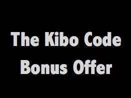 the kibo code bonus offer